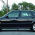 1997 Saab 900 S at 75K side_low_angle