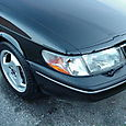 1997 Saab 900 S at 75K Front Corner Shot High Angle