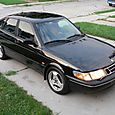 1997 Saab 900 S Side Front Shot from Above