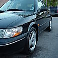 1997 Saab 900 S at 75K Front Corner Shot Low Angle